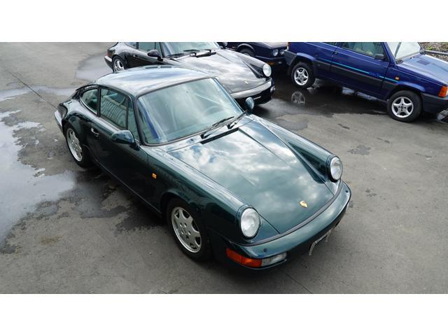 ポルシェ 911カレラ2 964 カレラ2 5MT フォレストグリーン ディーラー車
