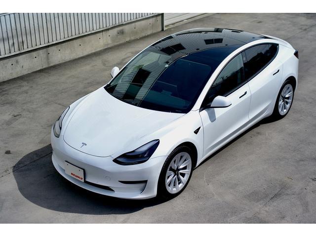 モデル3(テスラ) ロングレンジ AWD デュアルモーター 新型2020モデル/Auto Pilot付 19in 純正AW 中古車画像