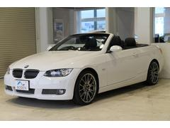 BMW335iカブリオレDTC7速BBS19AW黒革PDC純正ナビ