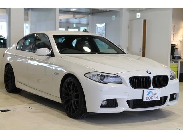 BMW 528i Mスポーツ赤革ワンオーナー直6EG