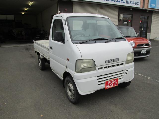 スズキ 4WD パワステ 5速マニュアル 軽トラック