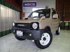 ジムニーXC4WD 丸目仕様 ベージュ全塗装 新品ジオランダーMT