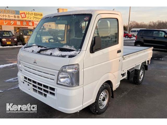 三菱 ミニキャブトラック みのり 4WD 届出済未使用車