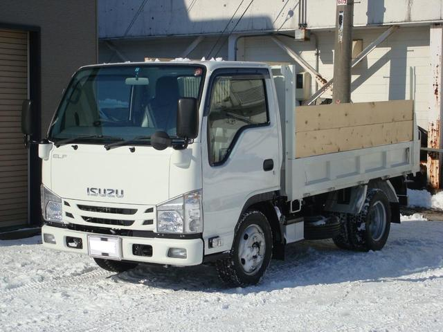 いすゞ 強化フルフラローダンプ・新免許対応・2トン・3方開・差枠