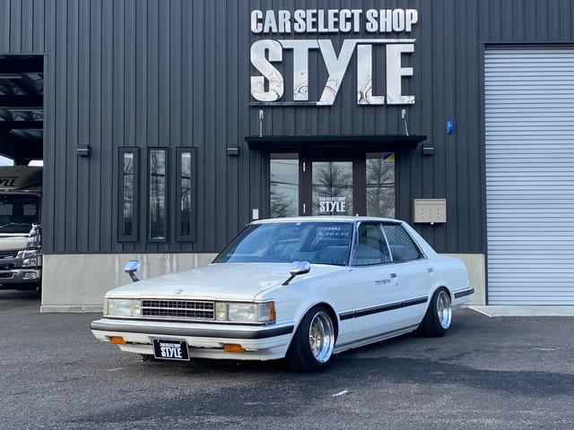 トヨタ クレスタ  車高調 SSRスピードスターフォーカスファイブ トラストタコ足 デュアルマフラー GX81ツインカムエンジン載せ替え 5速マニュアル 社外エアクリーナー 水野ワークスステアリング シフトノブ LSD