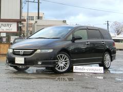 オデッセイアブソルート・4WD・AT・純正エアロ・ハーフレザーシート
