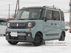 スペーシアギアハイブリッドXZ ターボ・AT・4WD・セーフティーサポート
