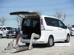 セレナチェアキャブ・車椅子固定装置1基・全自動リフター