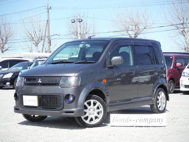三菱 R 4WD・インタークーラーターボ・HID・シートヒーター・純正エアロ・デジタルTV
