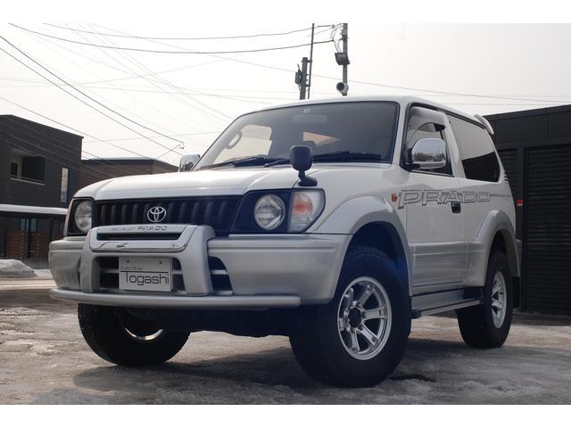トヨタ ランドクルーザープラド RZ 4WD サンルーフ 5速マニュアル ツインバッテリー 寒冷地仕様 下取車輌