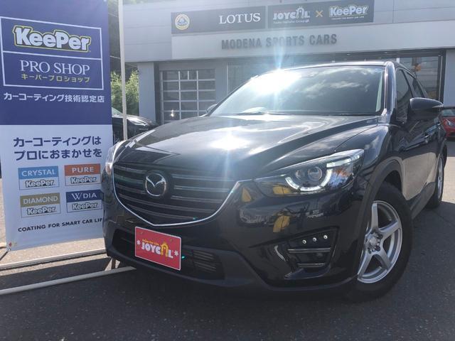 マツダ XD Lパッケージ 4WD サンルーフ 黒革シート ナビ