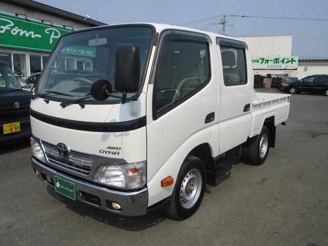 トヨタ 3.0Dターボ Wキャブ 4WD 5MT キーレス