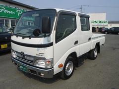 ダイナトラック3.0Dターボ Wキャブ 4WD 5MT キーレス