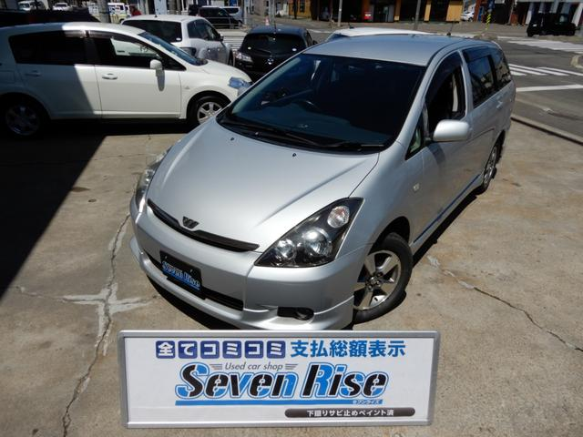 トヨタ X Sパッケージ 4WD 保証付 事故無 Tチェーン ナビ