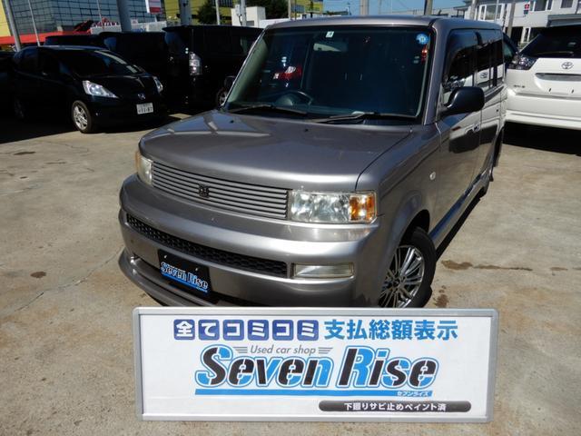 トヨタ bB Z Xバージョン 4WD 保証付 事故無 Tチェーン キーレス HID 社外AW 純正エアロ ベンチシート ABS WSRS