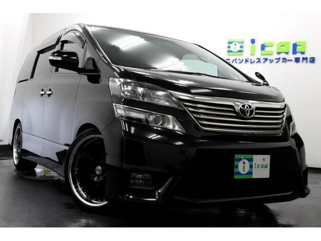 トヨタ 3.5Z G-ED HDDナビ地デジ 黒革調カバー 20AW