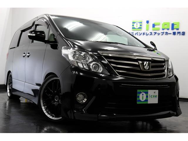 トヨタ 350S Tゴールド SDナビ/地デジ 車高調 新品20AW