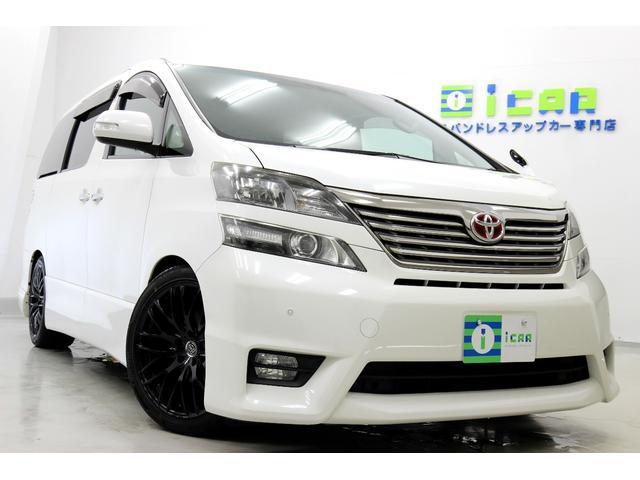 トヨタ 3.5Z プラチナセレ 4本マフラー HDDナビ 19AW