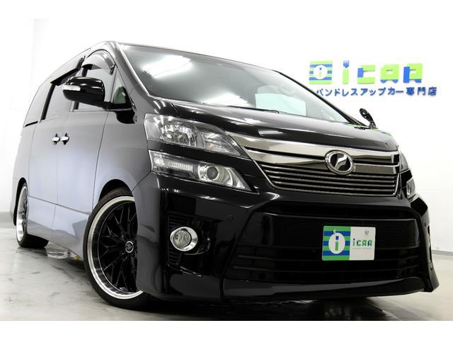 トヨタ 2.4Z プラチナセレ HDDナビ後席モニター 新品20AW