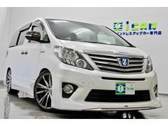 アルファードハイブリッドSRモデリスタ サンルーフ RS−R車高調 新品20AW