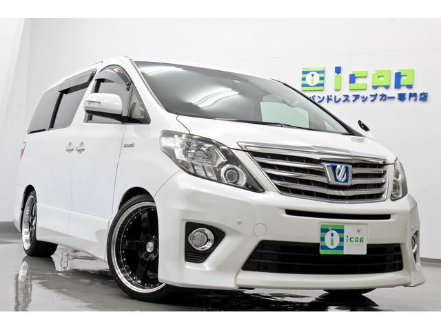 トヨタ SR HDDナビ 後席モニター新品サス 新品タイヤ/20AW