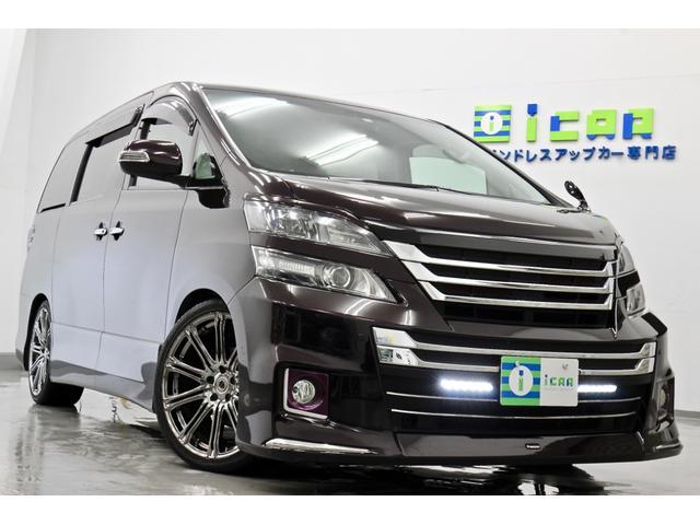 トヨタ 3.5ZG 後期仕様 ヴァレンティLED 車高調 20AW