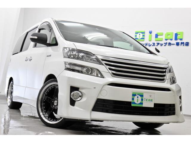 トヨタ ヴェルファイアハイブリッド ZR サンルーフ BLITZ車高調 新品タイヤ/新品20AW