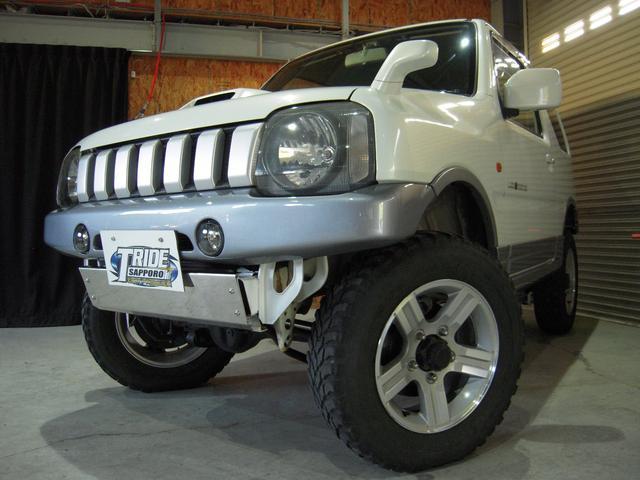 スズキ ランドベンチャー 4WD オートマ リフトアップ