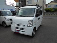 スクラムPA 4WD 5MT ハイルーフ ルーフキャリア付