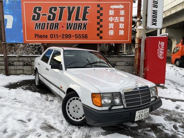 メルセデス・ベンツ 260E ワンオーナー 前期 札幌33ナンバー