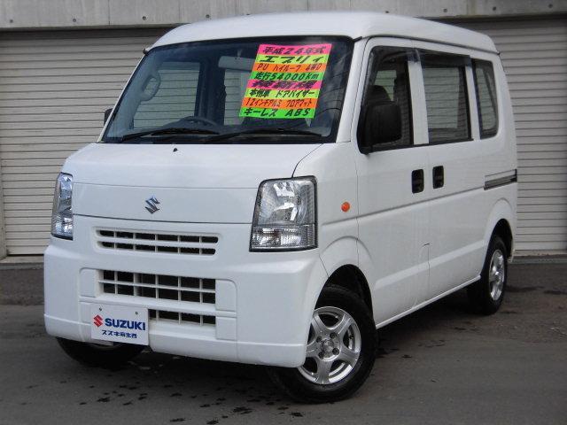 スズキ PU ハイルーフ 4WD マット バイザー ABS 本州車