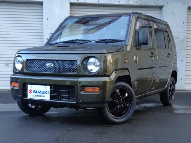 ダイハツ ターボG 4WD ターボ 本州車 CDオーディオ LEDヘッドライト 14インチAW+新品タイヤ 電動格納ミラー フロアマット ドアバイザー Wエアバック パワーウィンドウ