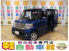 N BOXカスタムG・Lパッケージ 4WD アイドルSTOP ナビTV ABS