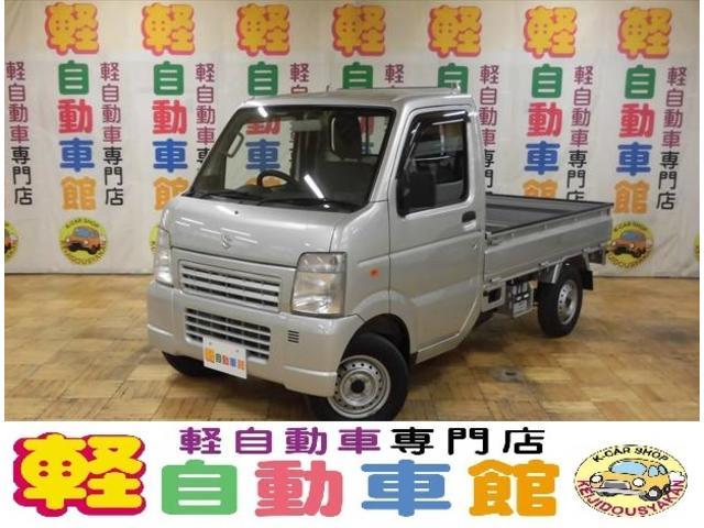 スズキ KU 4WD エアコン・パワステ マニュアル車
