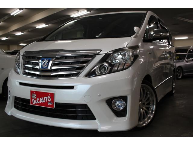 トヨタ SR 両側パワスラ パワーバックドア HDDナビ 車高調