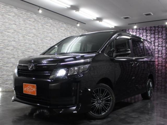 ヴォクシー X 4WD 特別寒冷地仕様 純正9インチナビTV 後席モニター バックカメラ スマートキー 純正エンジンスターター ETC 横滑り防止機能 アイドリングストップ 左右パワースライドドア LEDヘッドライト