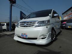 アルファードVAS−LTD 4WD TEIN車高調 HDDナビ 両PWドア