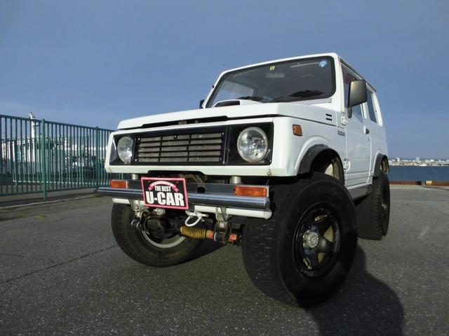 スズキ HC 5MT 4WD リフトアップ ボディーリフト 265/75R16ジオランダー 社外エアクリーナー 社外ブローオフバルブ ラバータイプオーバーフェンダー 社外フロントグリル 社外マフラー 関西仕入れ