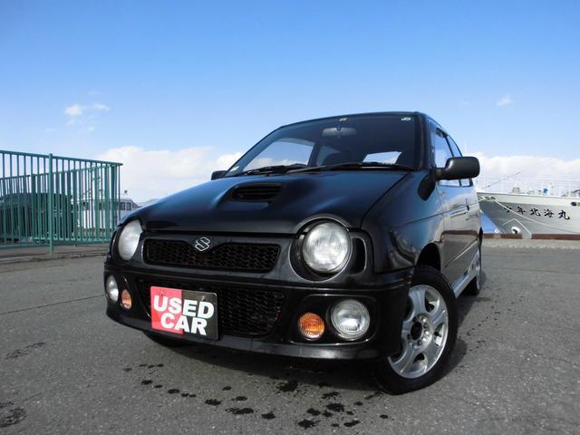 スズキ アルトワークス RS/Z 5MT 4WD ツインカム インタークーラーターボ 東海地方仕入れサビ無し ブーストコントローラー ターボタイマー 準純正仕様 実走行9万キロ代