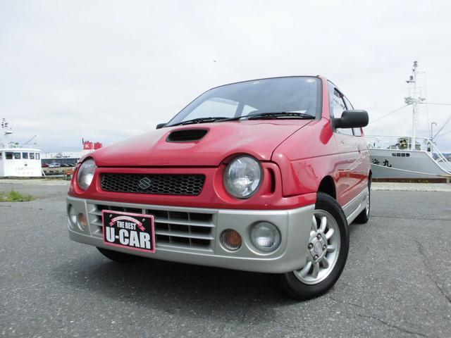 スズキ RS/Z 5MT 4WD ICターボ 北関東仕入れサビ無し フルノーマル車両 パワステ エアコン パワーウィンドウ ターボタイマー