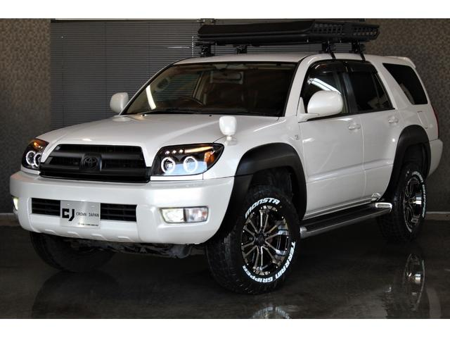 トヨタ ハイラックスサーフ SSR-X 4WD 本州仕入 新品マッドタイヤ&AW 新品ルーフラック 新品ヘッドライト