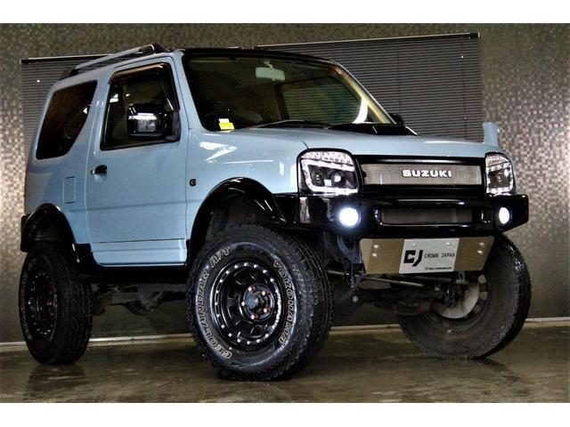スズキ ランドベンチャー 4WD 本州仕入 全塗装済み 新品ヘッドライト 新品マフラー エンスタ 社外ナビ フルセグ