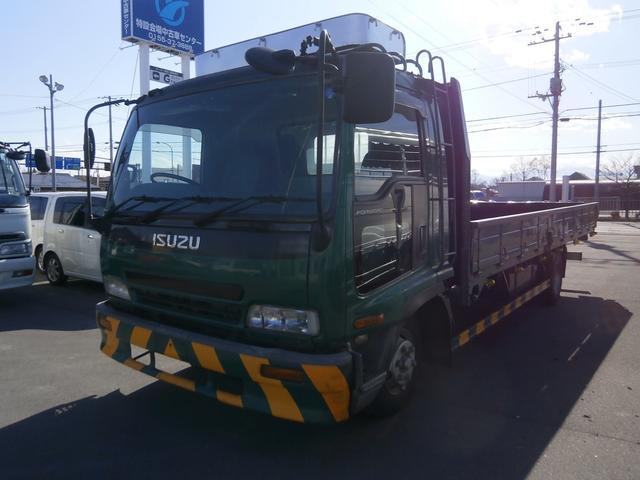 いすゞ 4t ワイド 平ボデー 6.2m荷台長