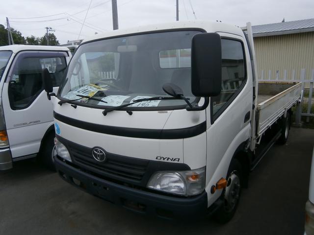 トヨタ 2t ワイド 平ボデー オートマチック 4.35mボデー