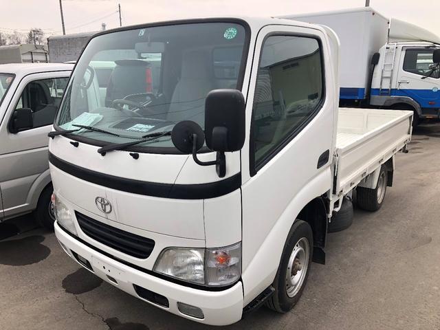 トヨタ 1.2t 4WD 平ボデー 2.85mボデー長