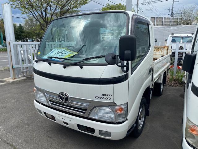 トヨタ 0.95t 4WD 平ボデー TECSPゲート付