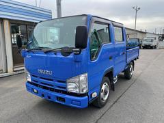 エルフトラック 1.15t 4WD Wキャブ6人乗り 平ボデー