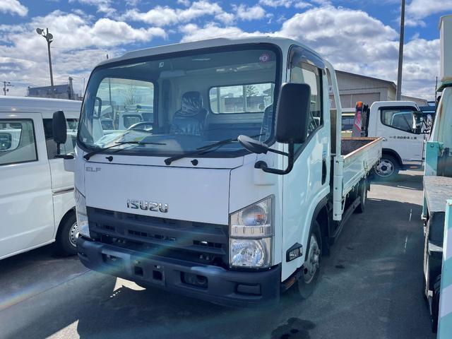 いすゞ エルフトラック  2tワイド低床平ボデー