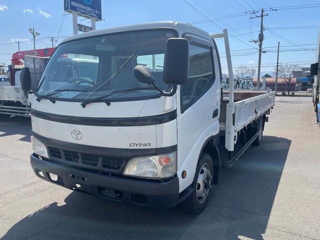 トヨタ ダイナトラック  3tワイド ロング平ボデー 5m荷台長 2.08m荷台幅