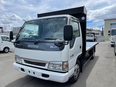 エルフトラック 3tワイドファームダンプ 極東開発新品架装 4.1m荷台